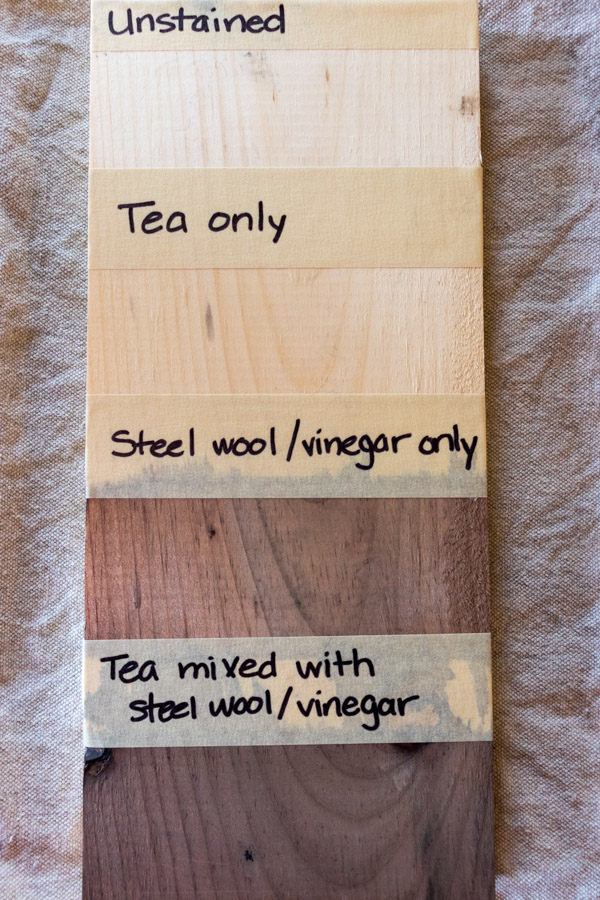 Simple Diy Stain For Weathering Wood Tangent Topia